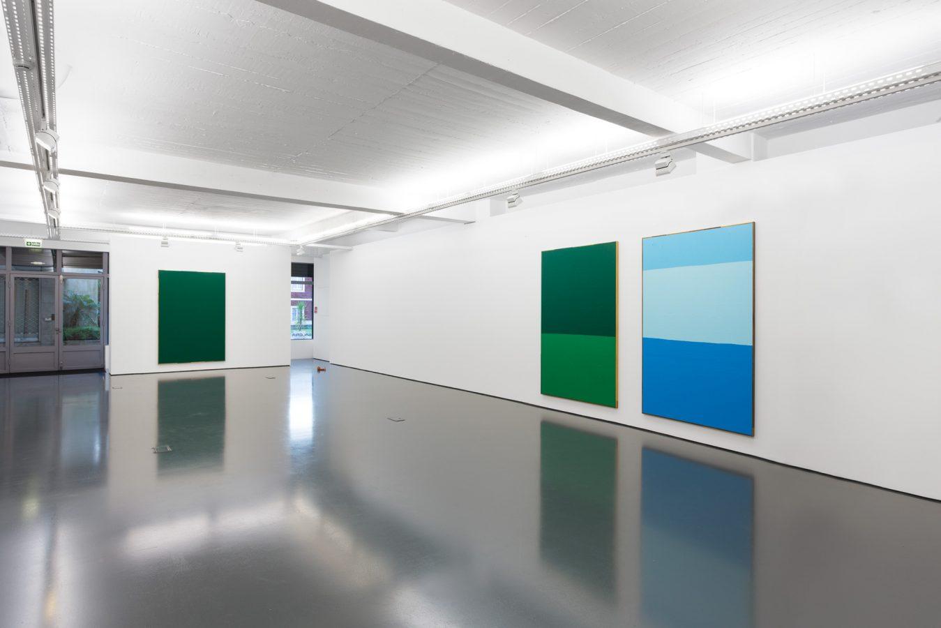 Galeria Pedro Cera – Antonio Ballester Moreno - Azul e Amarelo